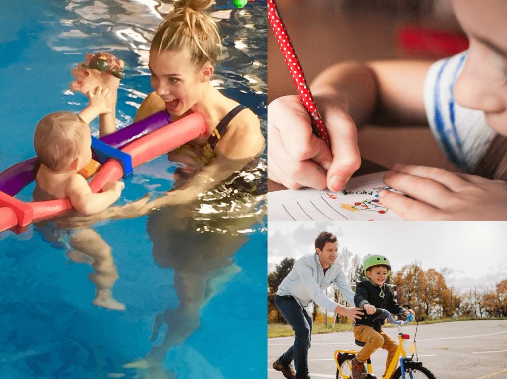 Actividades extracurriculares y recreativas para niños de 2 a 3 años