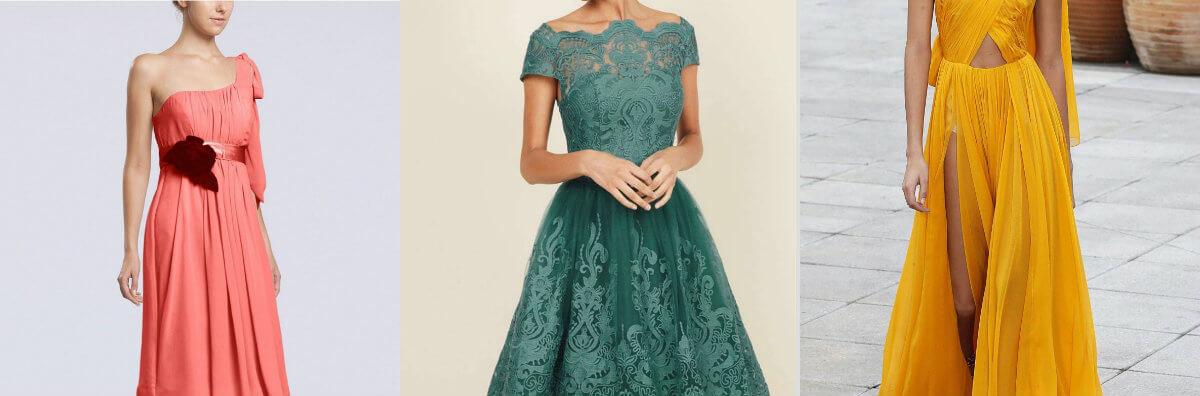 colores de moda para los vestidos para matrimonio