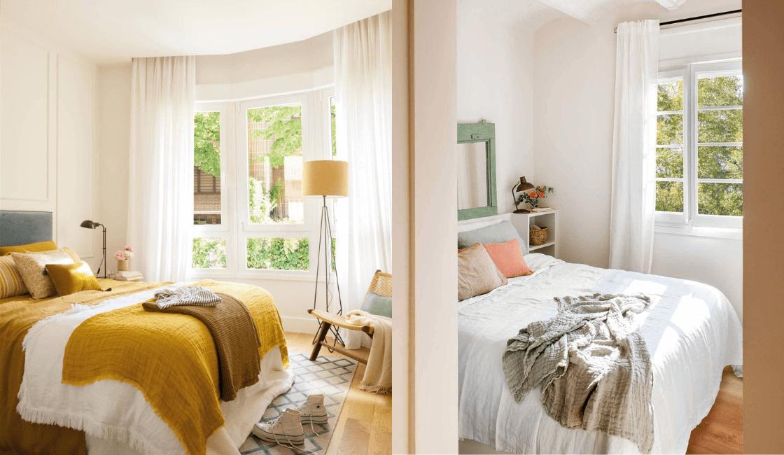 decoracion de habitaciones pequeñas de matrimonio