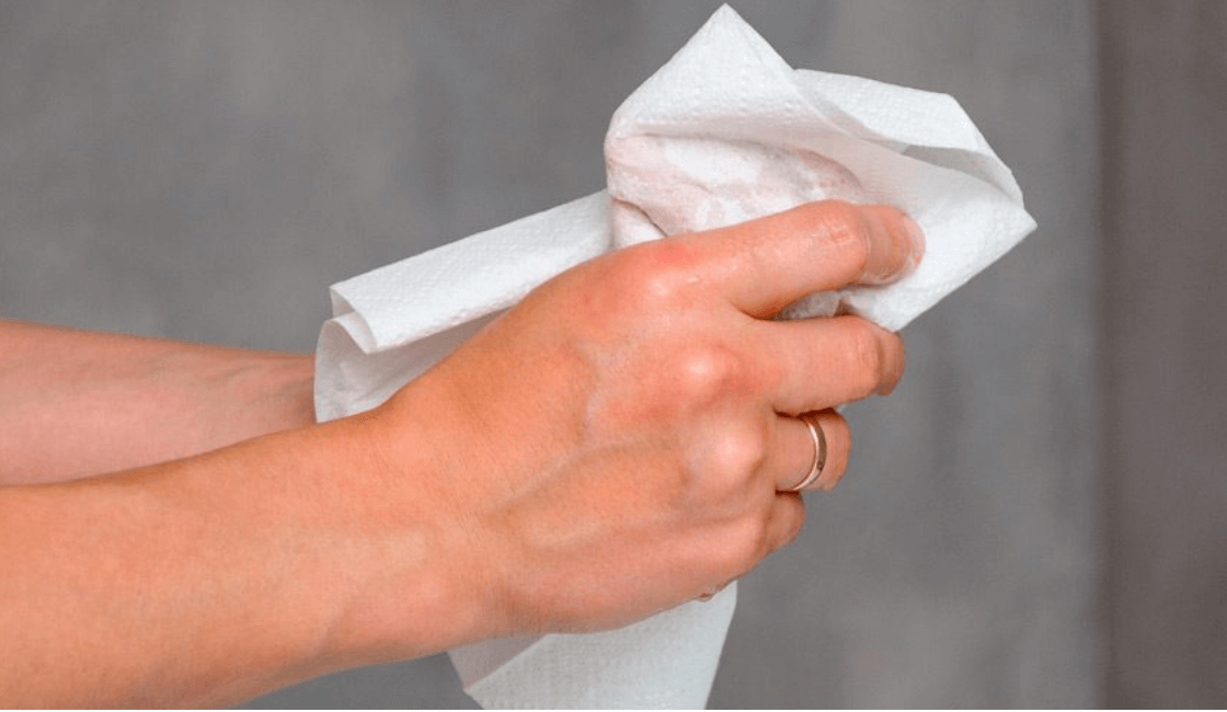 pañuelos humedos y papel higienico necesarios