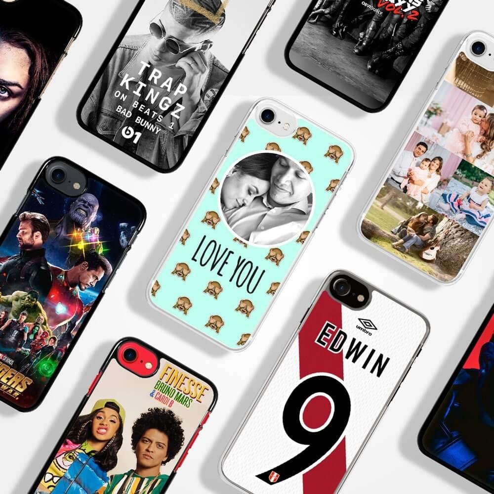 Case de celular personalizados