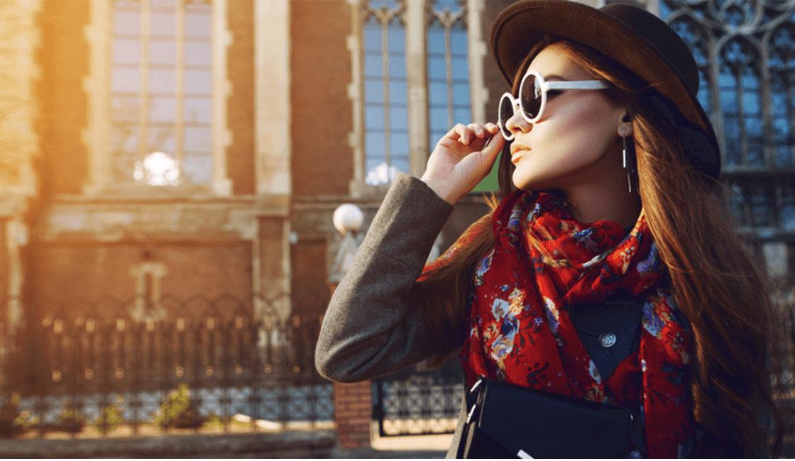 bufandas entre los accesorios de moda