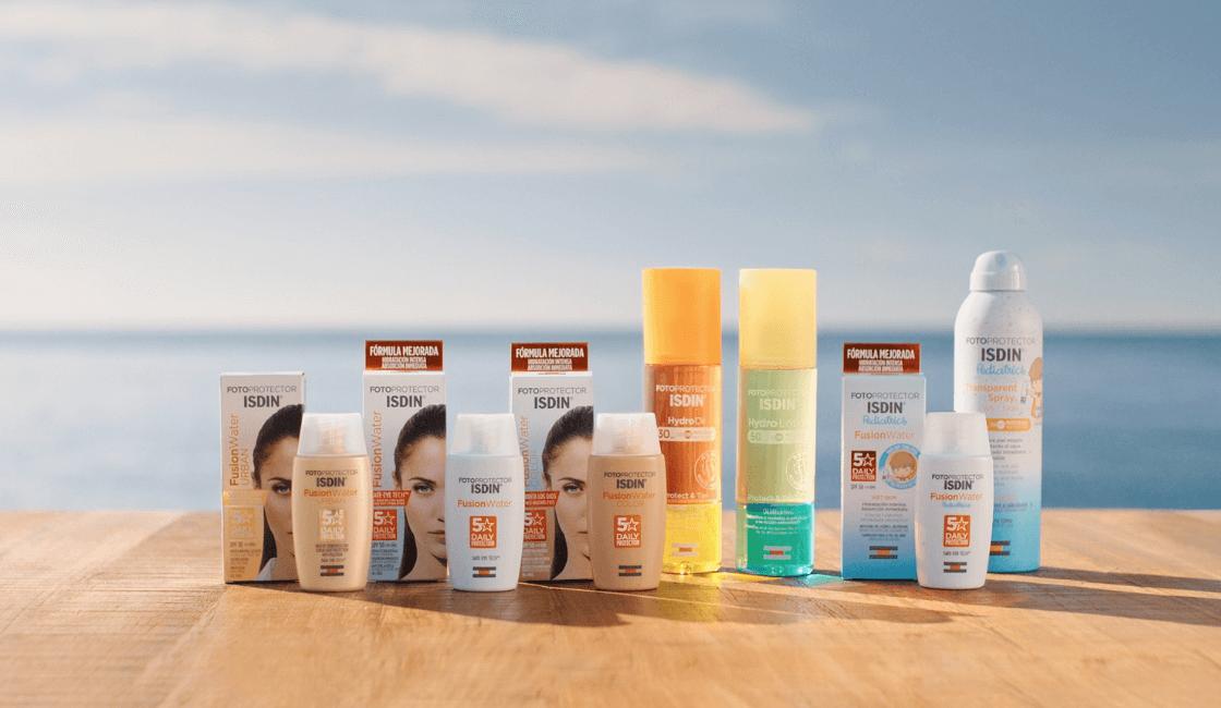 isdin marca reconocida en el mercado
