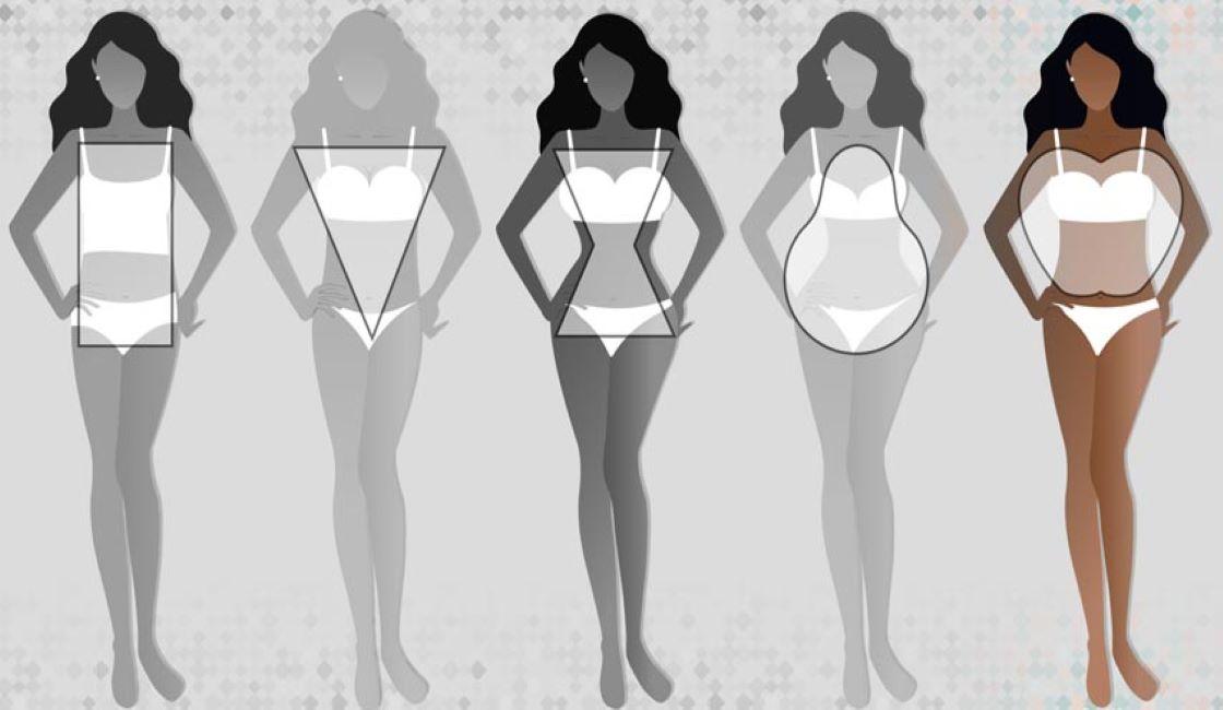 tipos de traje de baño para cuerpos tipo manzana