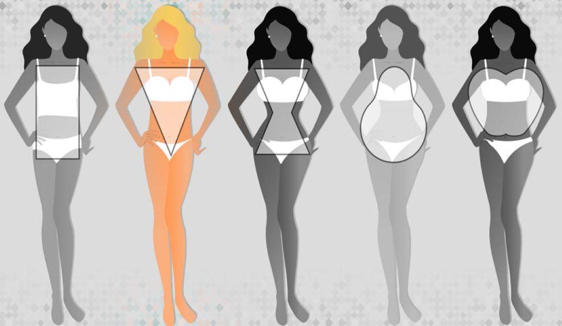 ropa de baño para cuerpos tipo triángulo invertido