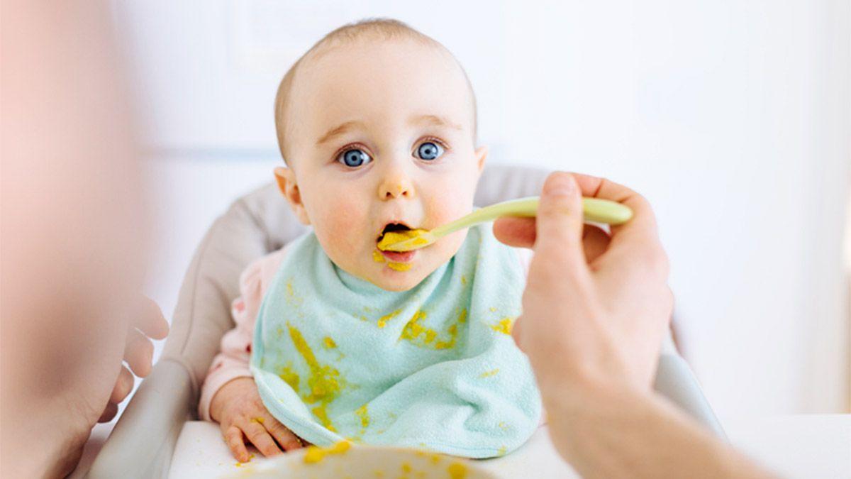 Primeras comidas para bebé