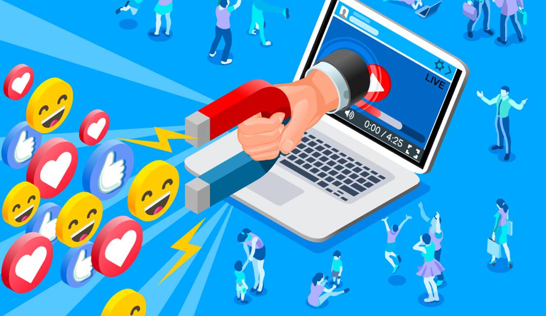 aumento ventas pagina web redes sociales