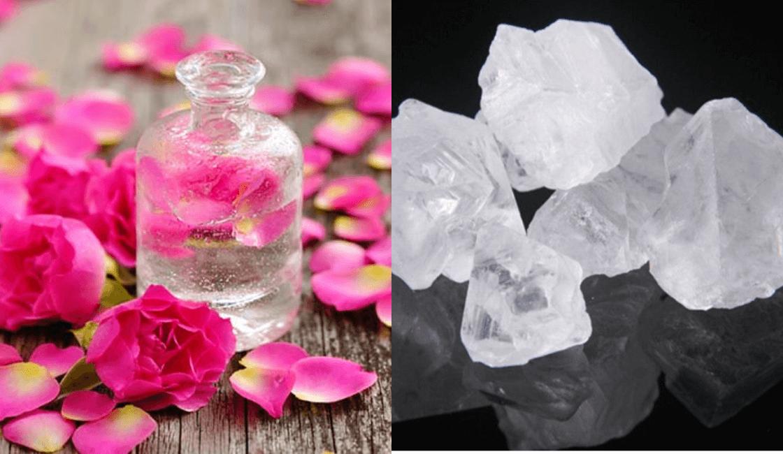 agua de rosas y alumbre entre las mas recomendadas
