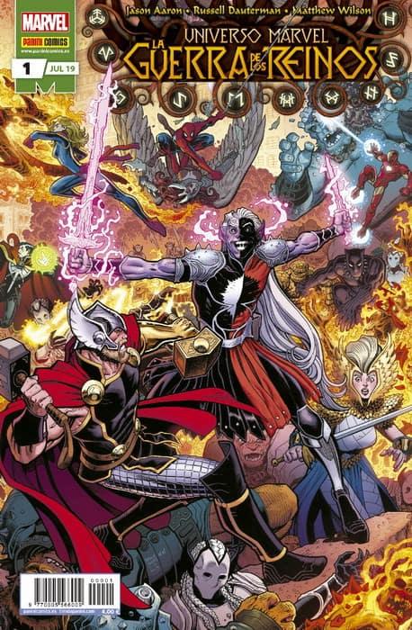Cómic Thor - Guerra de los Reinos