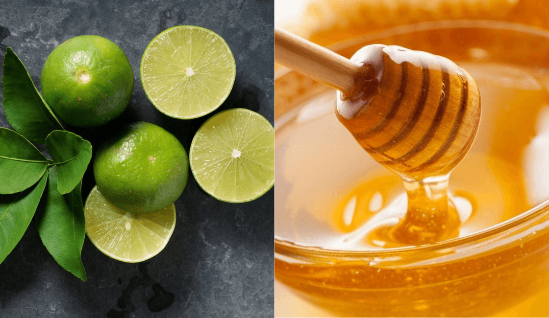 limon y miel para los vellos