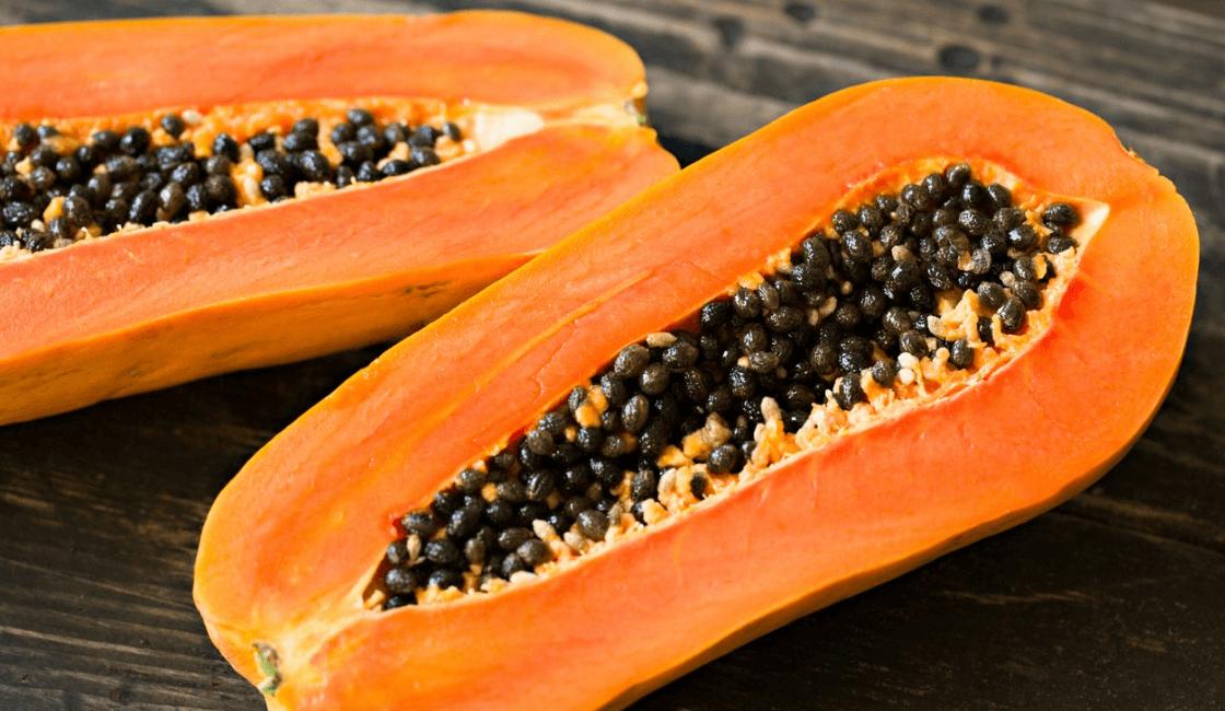 papaya producto natural para eliminar vello facial