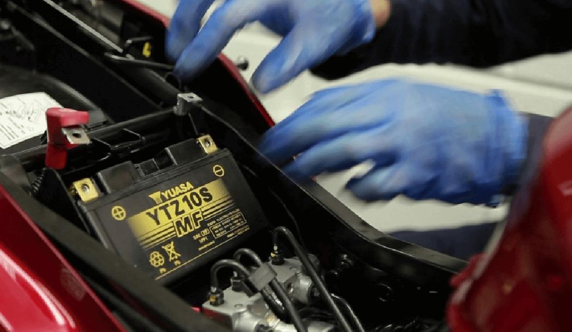 revisión batería moto