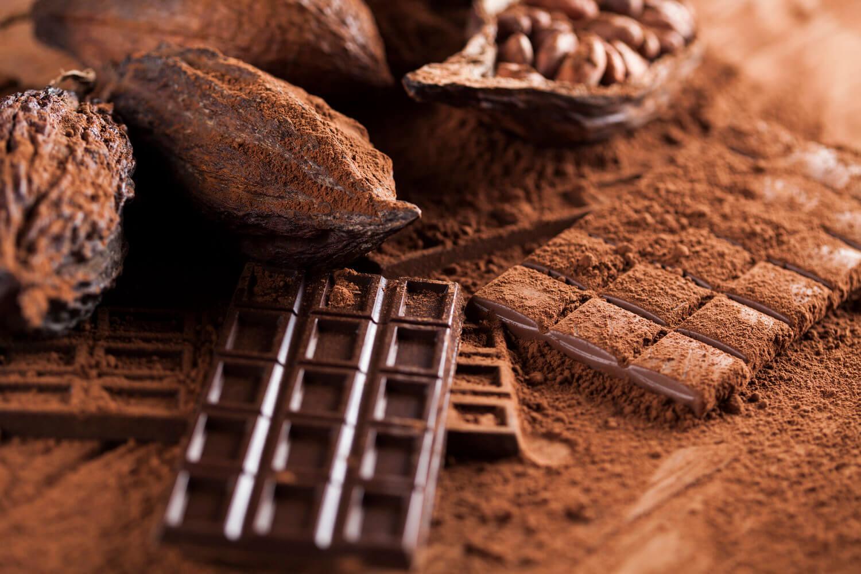 chocolate en barra chocolate bitter chocolate negro cacao en granos semillas de cacao chocolate en polvo cacao en polvo