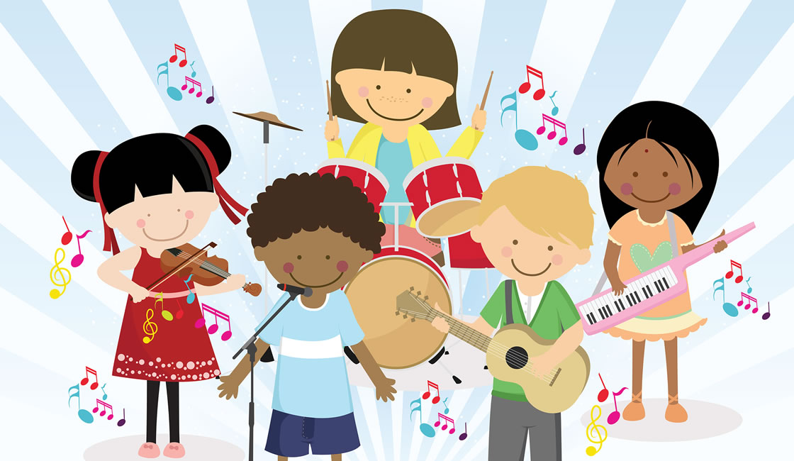 10 mejores instrumentos musicales para niños
