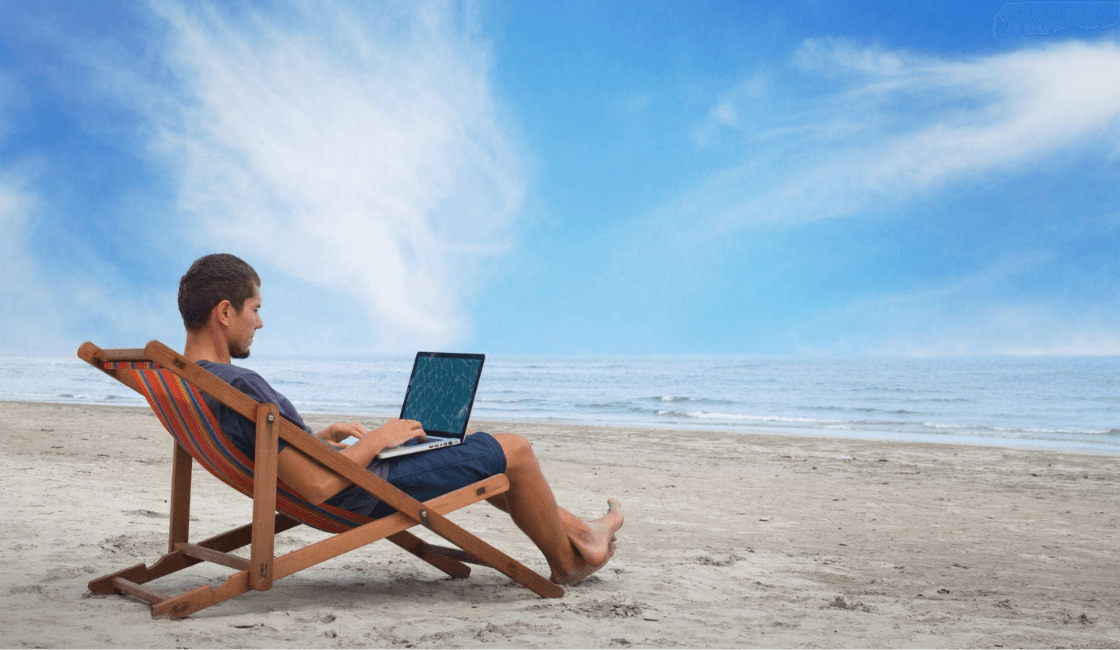 vacaciones en redes sociales