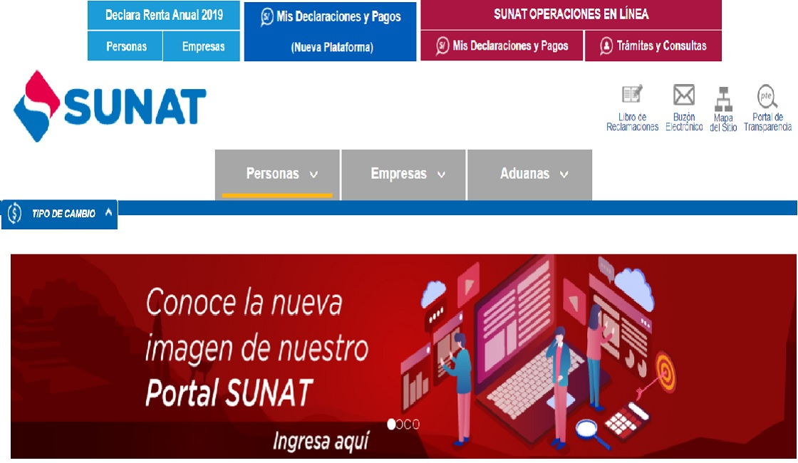 Porta informativo de la Sunat