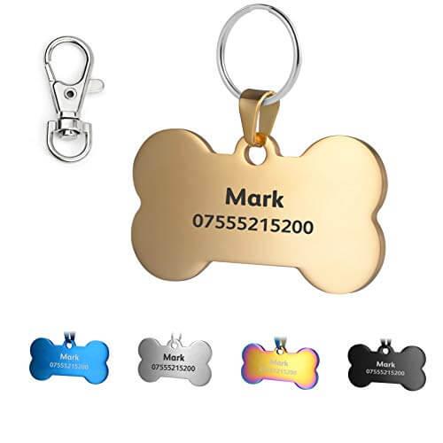 Accesorios para identificar a tu perro