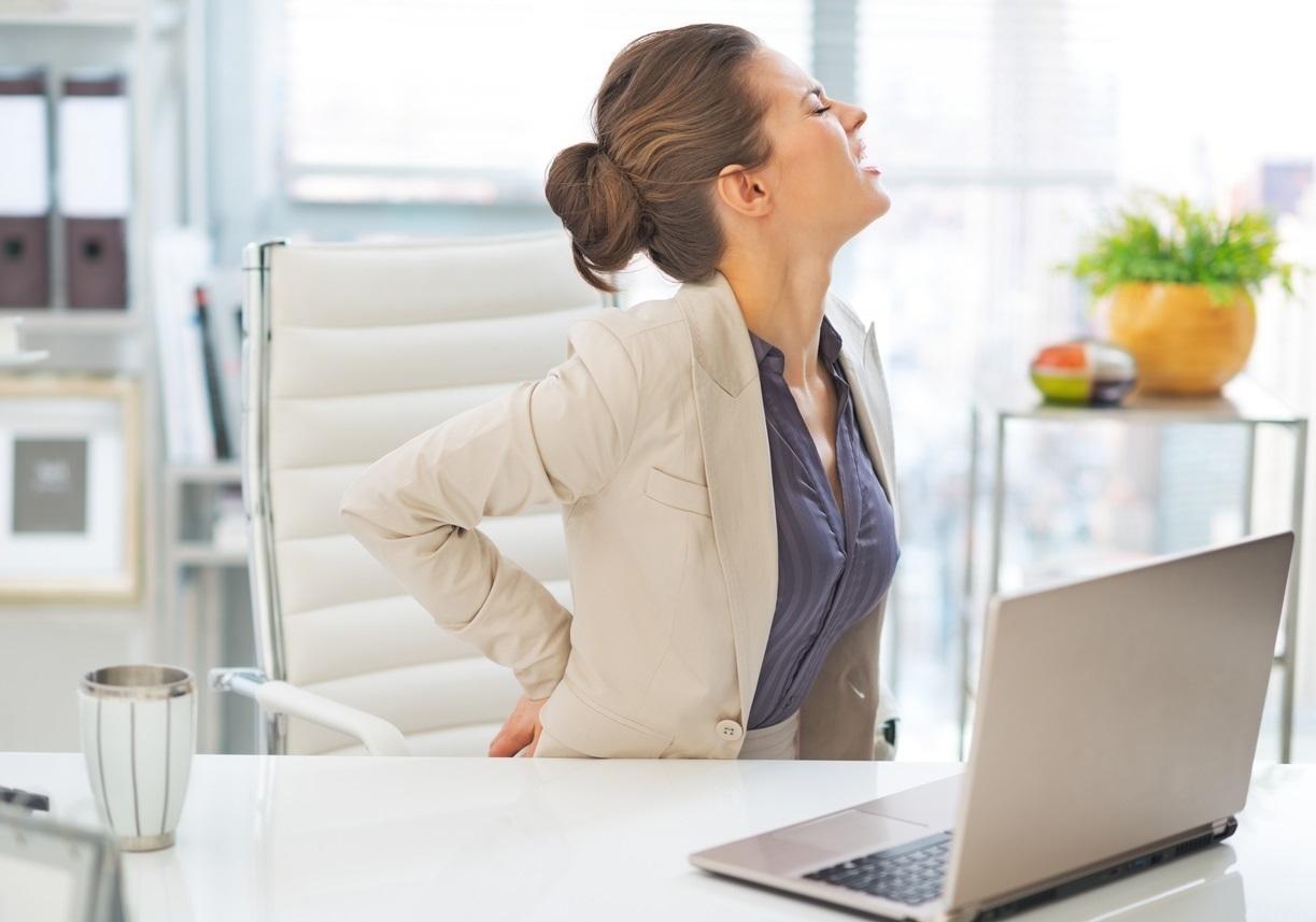 Sedentarismo: Dolor de espalda