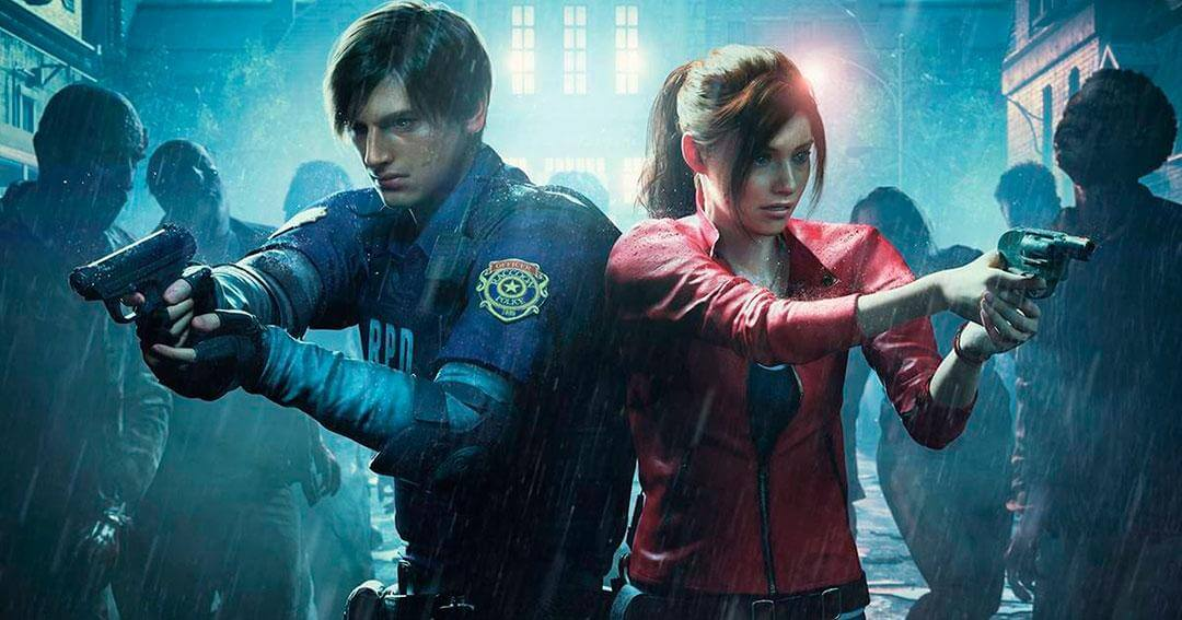 RE2 remake, Leon S. Kennedy y Claire Redfield