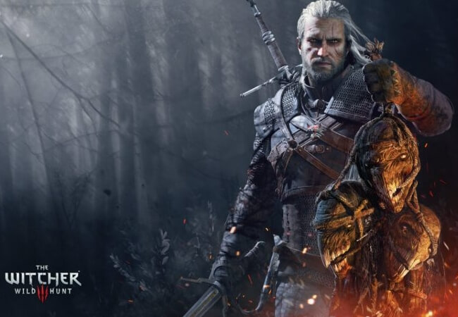 Gerald, The Witcher 3 Wild Hunt