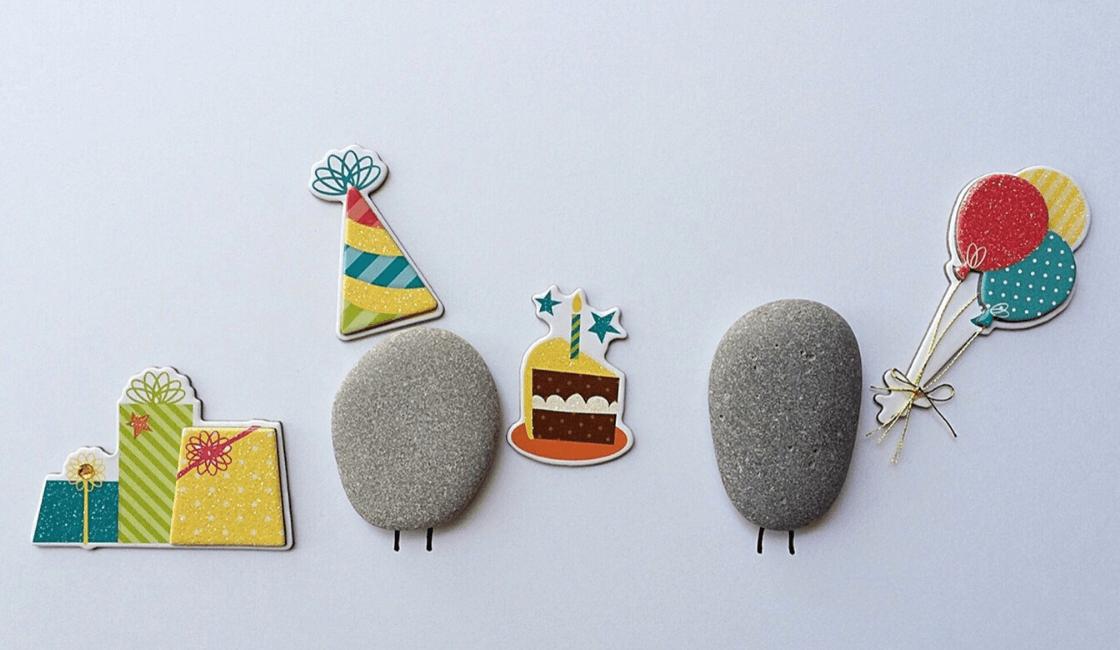 adornos de piedra para fiesta