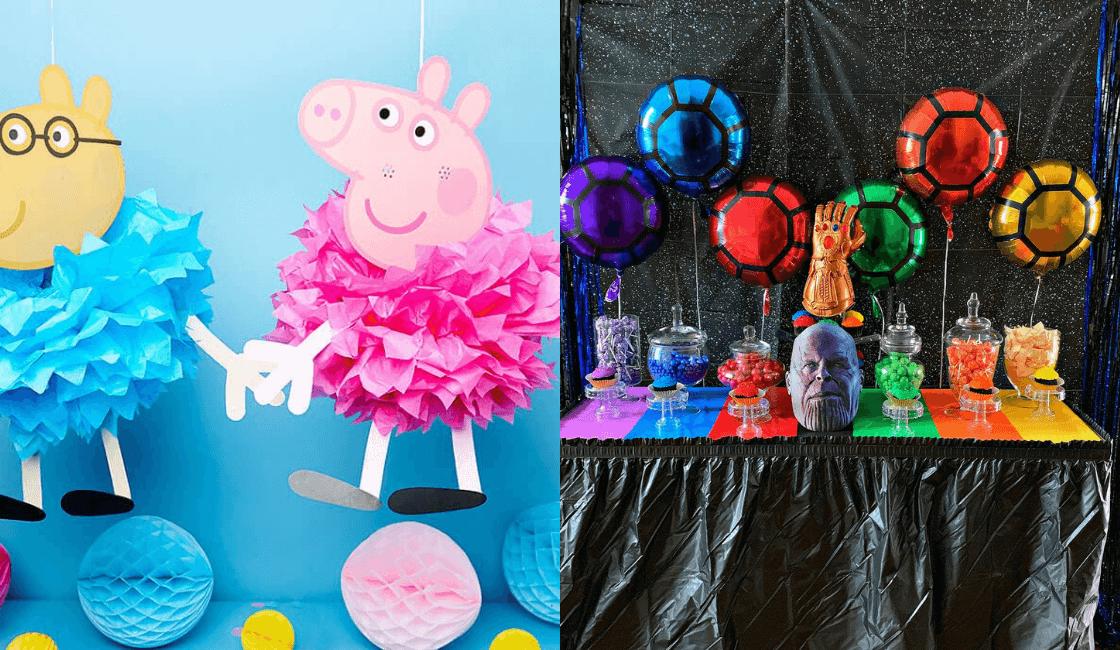 decoracion entre los principales pasos para organizar fiesta infantil