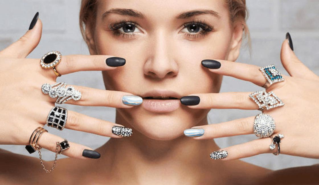 joyas de acero mujer anillos