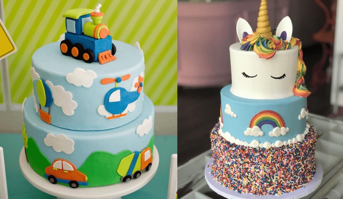 Paso 6: las tortas son fundamental en todas las fiestas infantiles