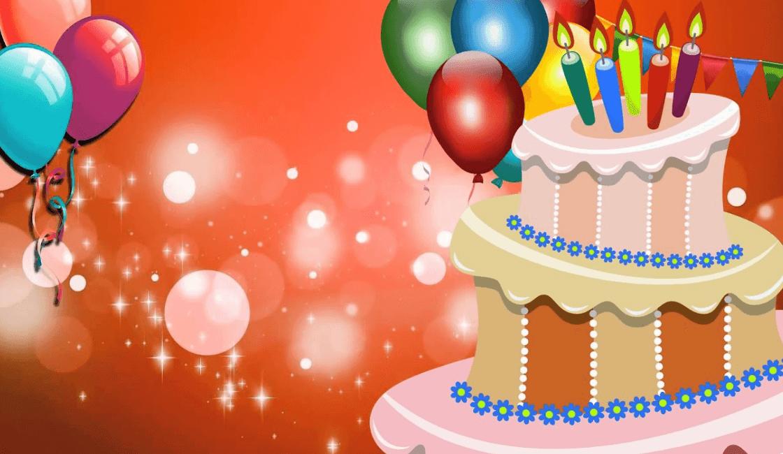 video animado para cumpleaños
