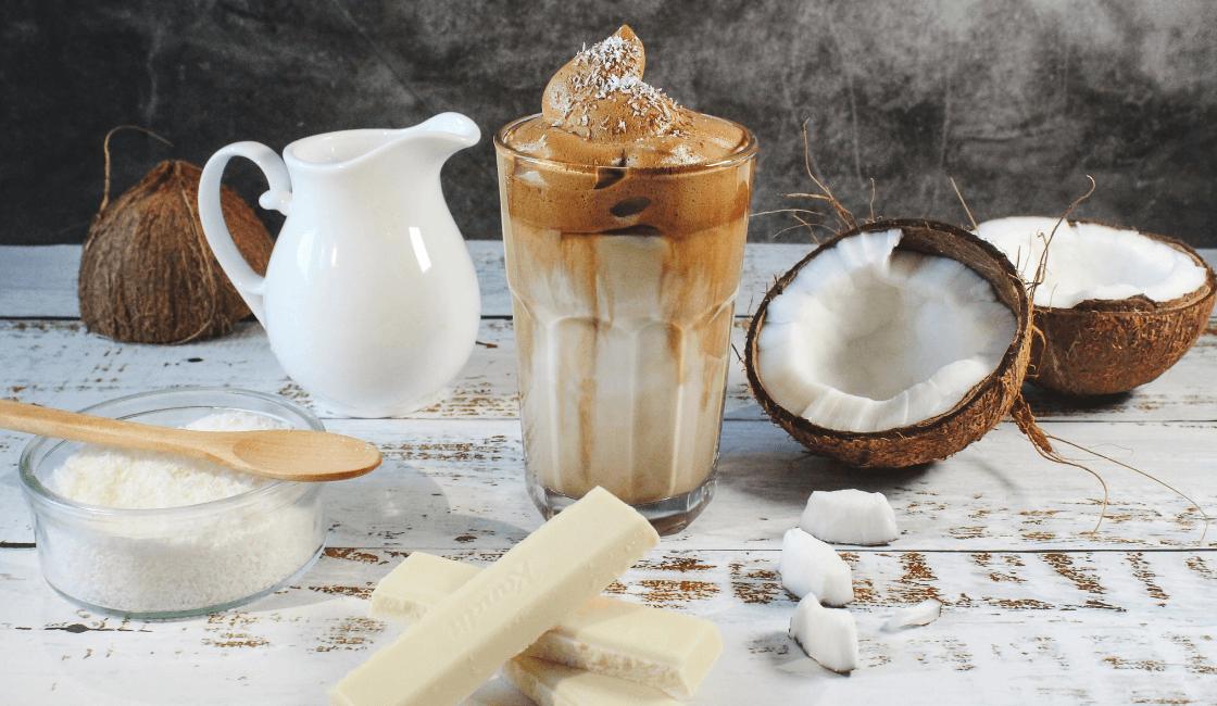 Recetas veganas y postres saludables con aceite de coco