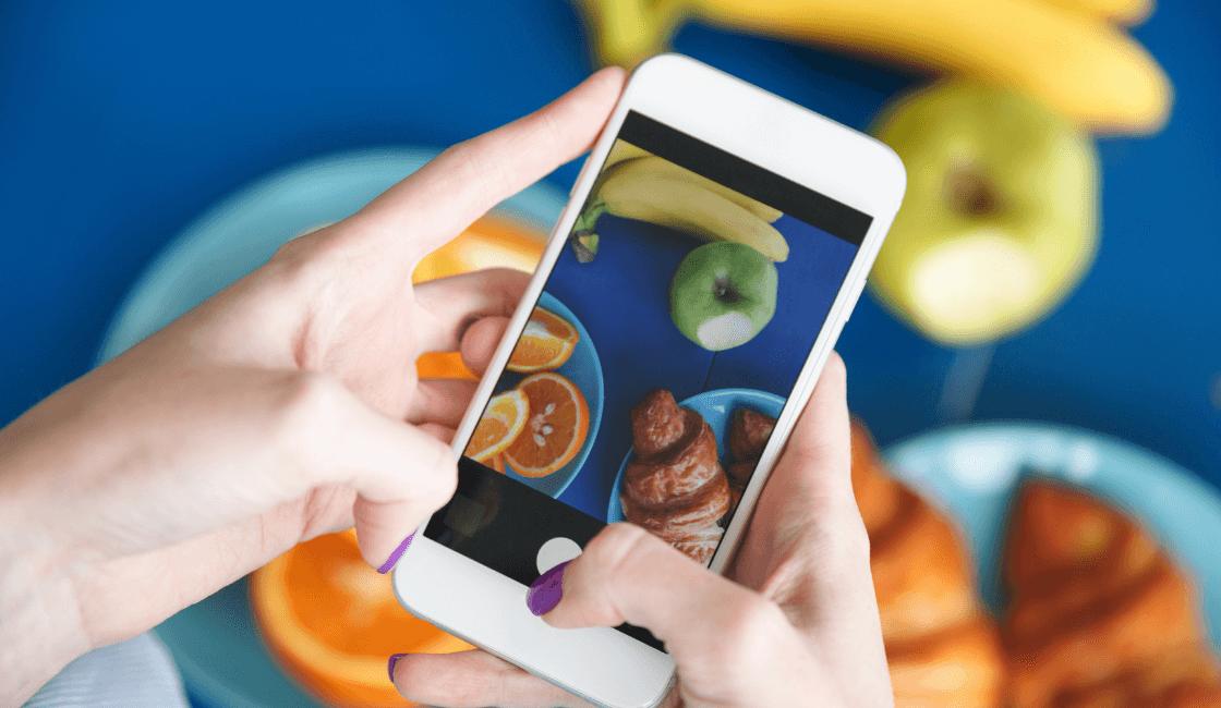 tomar fotos desde un móvil para generar tendencia