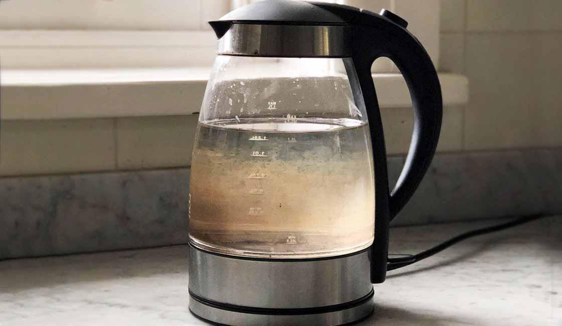 el agua hervida no es agua filtrada