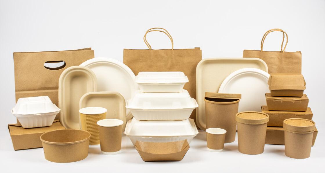 Envases biodegradables diversidad