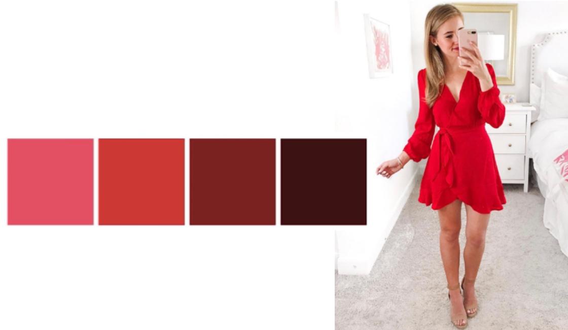 Outfit verano 2021 tonalidad rojo