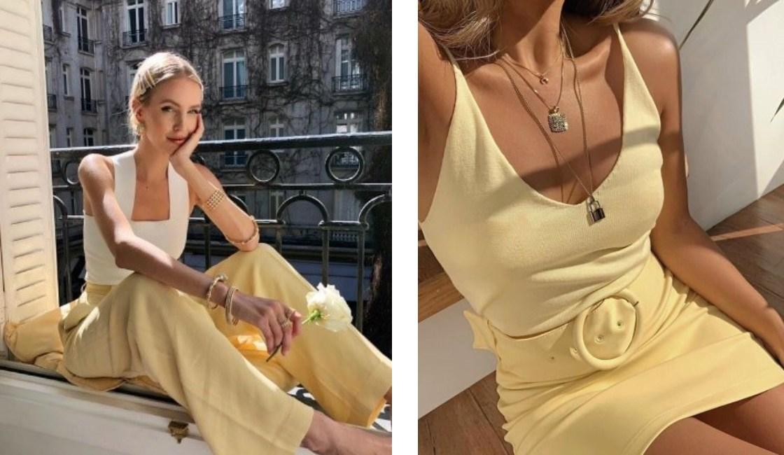 Outfit amarillo verano 2021