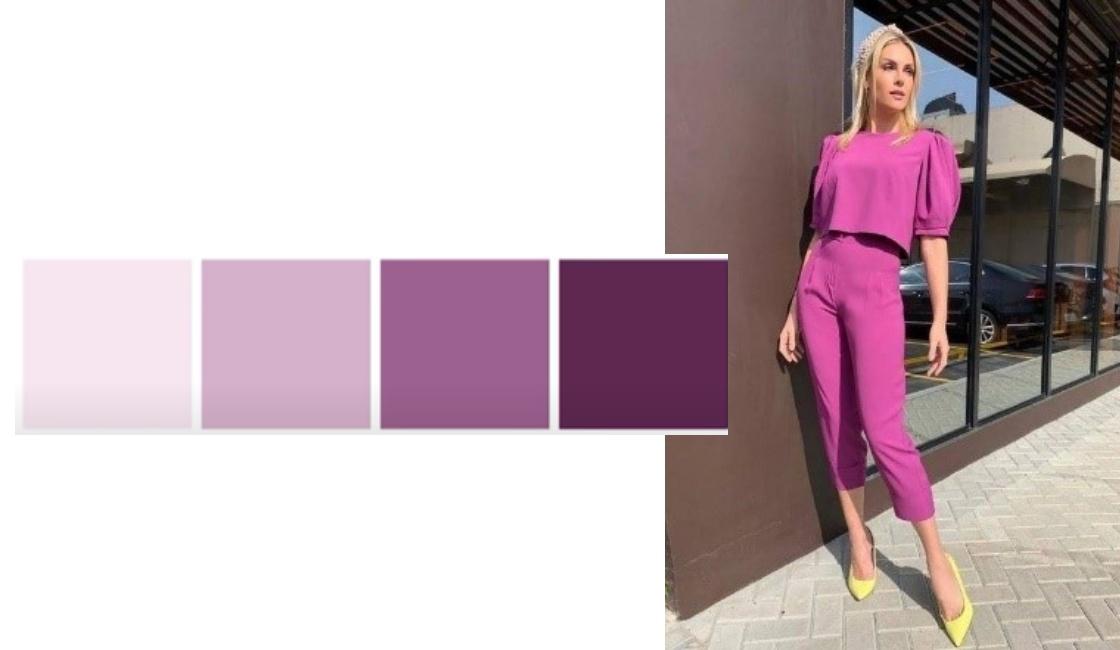 Outfit verano 2021 tonalidad magenta