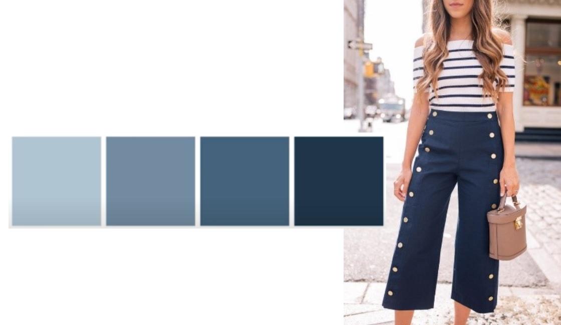 Outfit verano 2021 tonalidad Light Blue