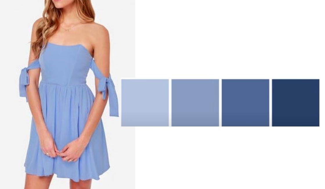 Outfit tonalidad Light Blue