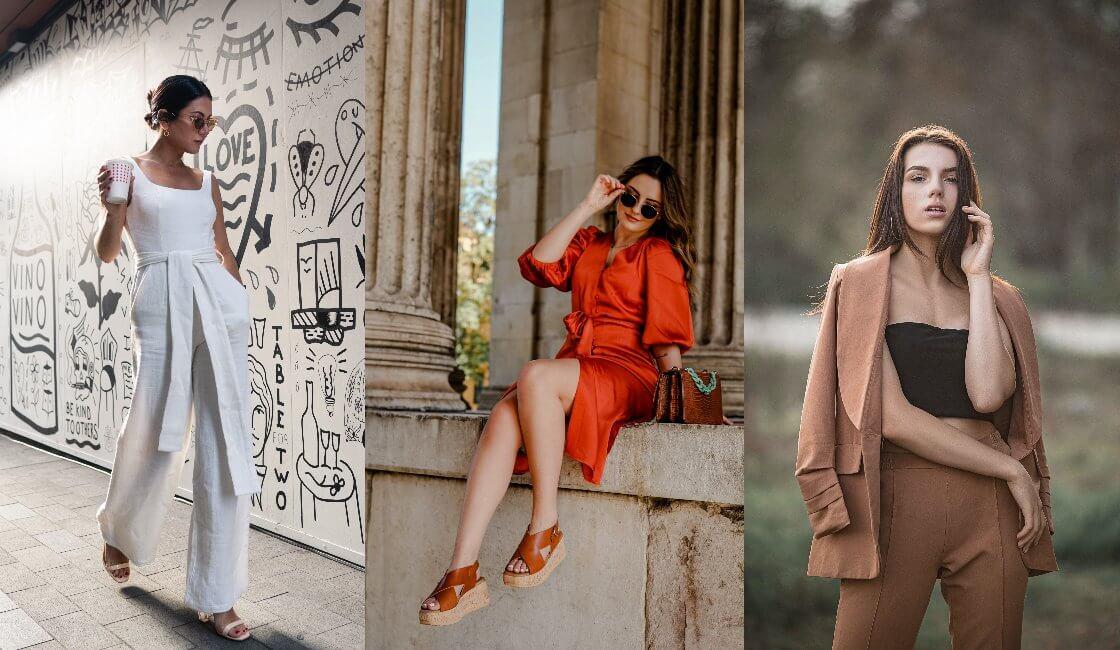 outfit en tendencias verano mujer de moda casual 2021