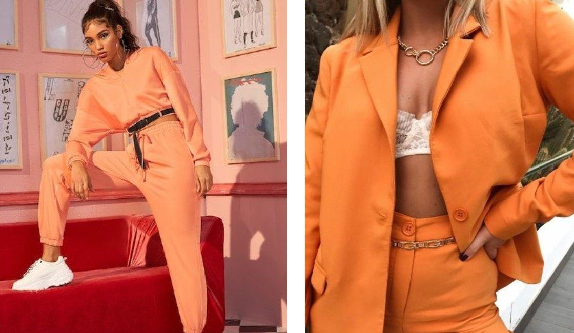 Outfit verano 2021 color naranja