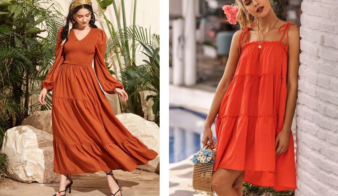 Outfit verano 2021 naranja