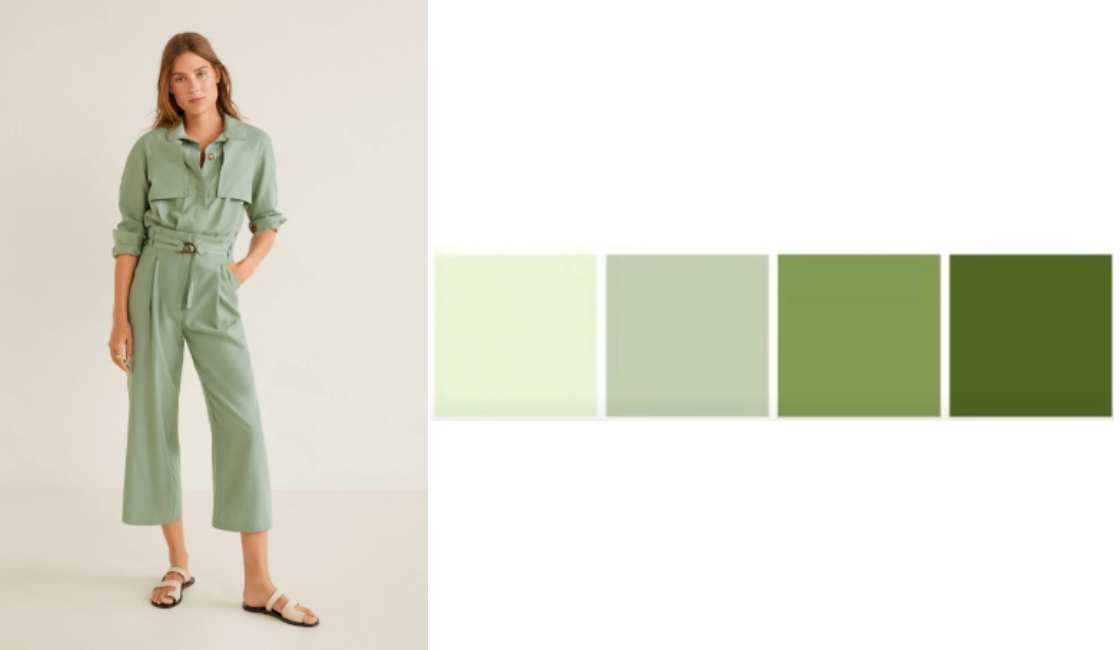 outfit color verde