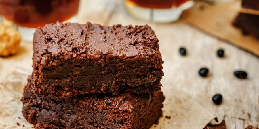 Brownies saludables de avena