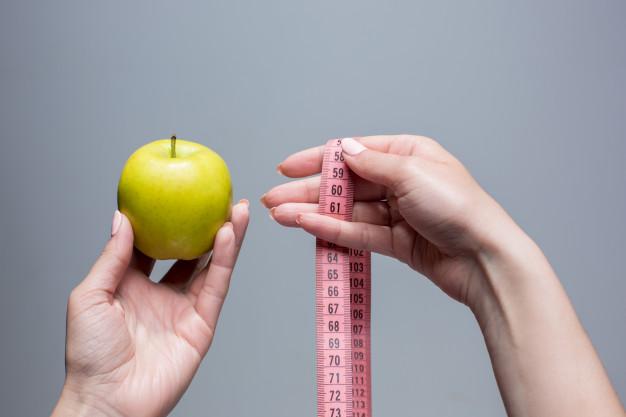 Medir las calorías de los alimentos