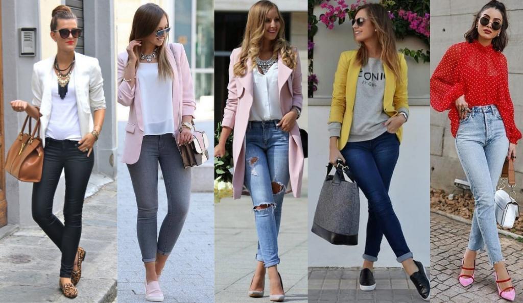 como vestirse sport elegante mujer
