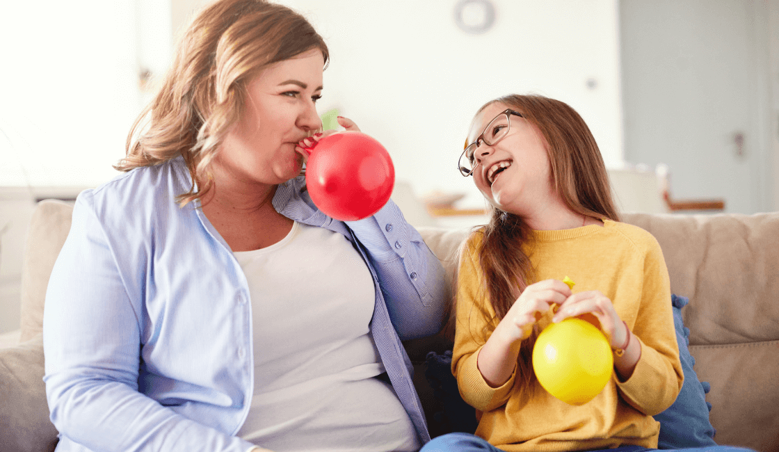 juegos con globos para niños con autismo