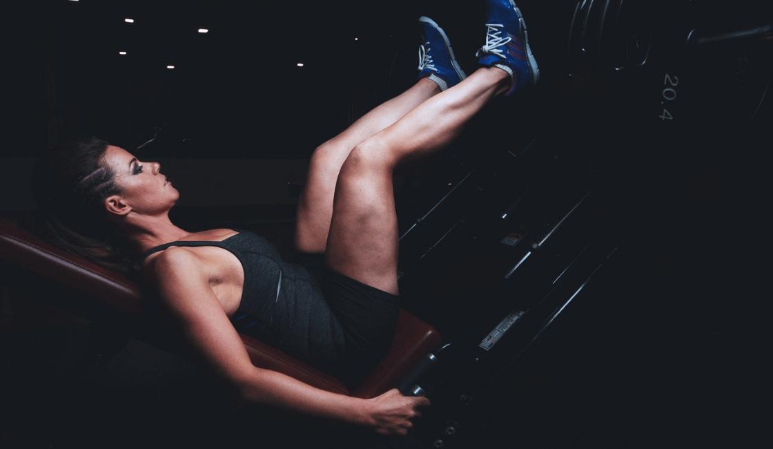 La masa muscular y las mujeres delgadas