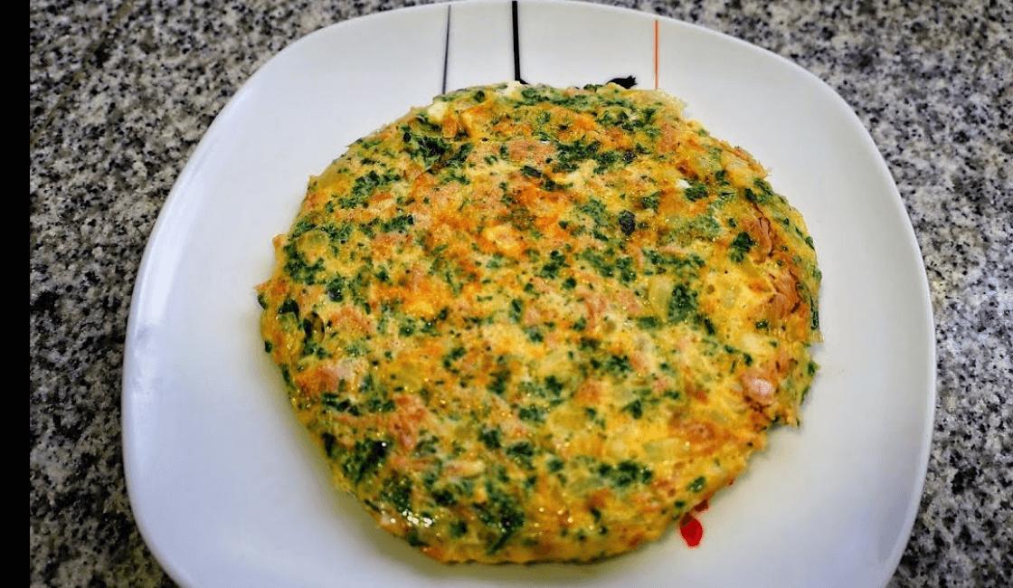 Tortilla de verduras para bebes