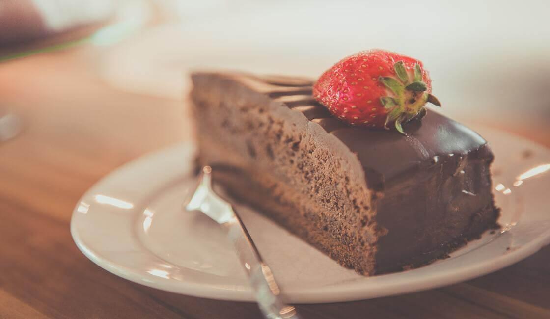 torta de chocolate sin azucar