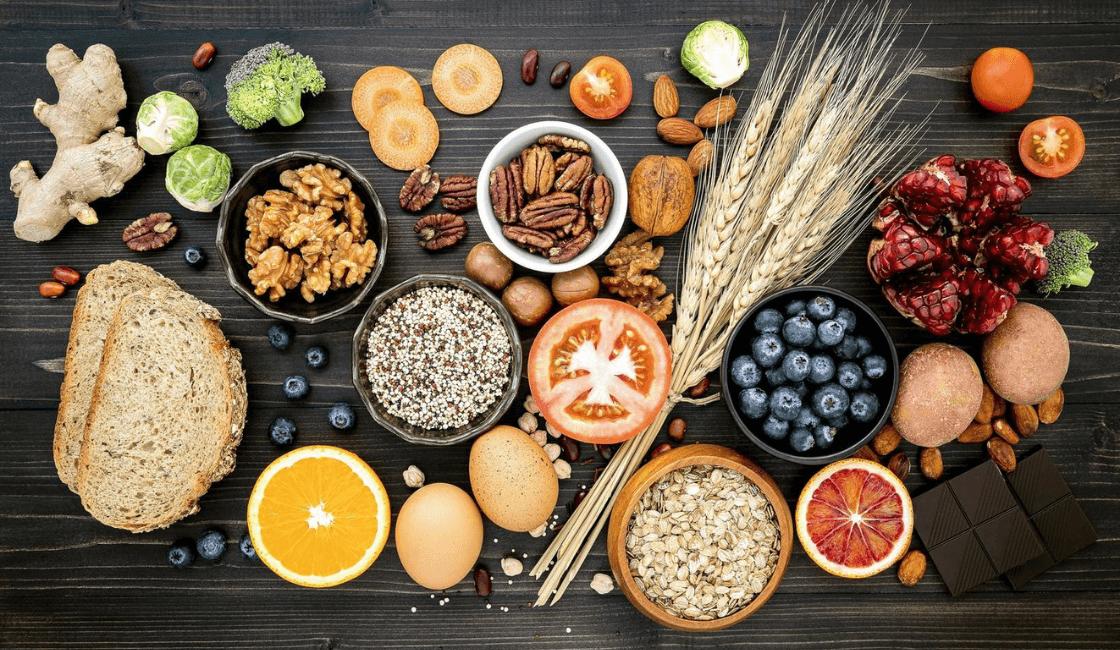 orgánicos y saludables Alimentos